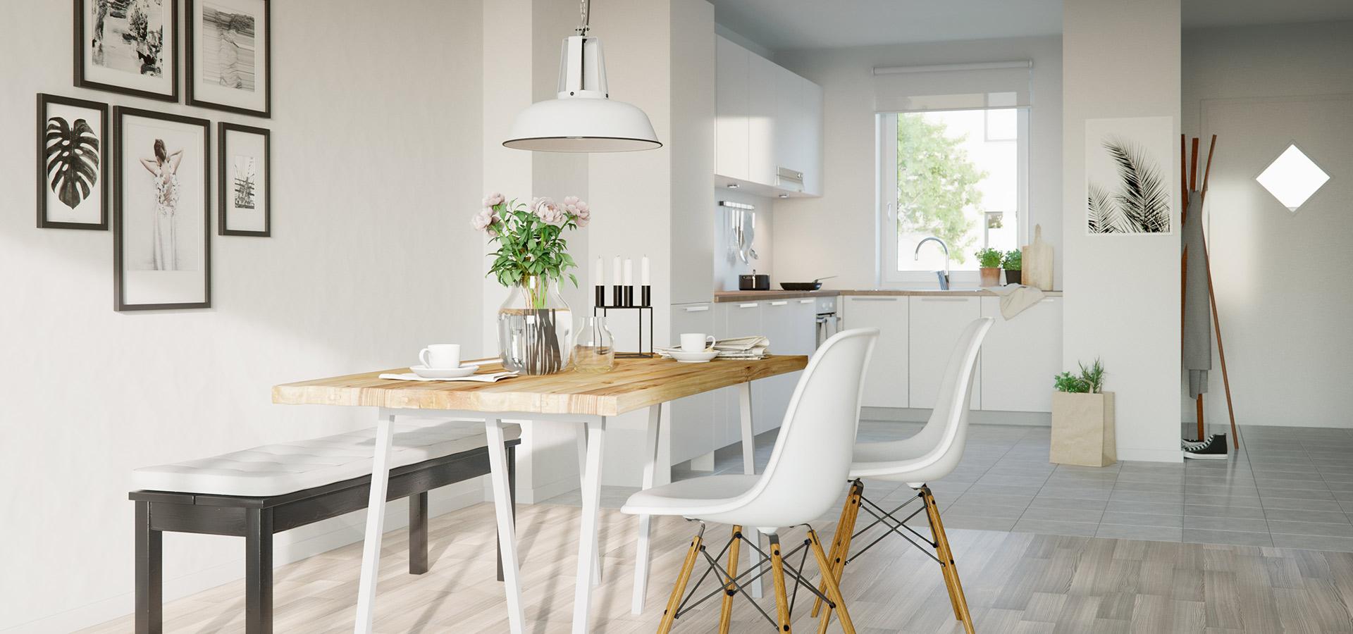 esszimmer einrichten simple esszimmer einrichten wohnideen und durchgehend esszimmer. Black Bedroom Furniture Sets. Home Design Ideas