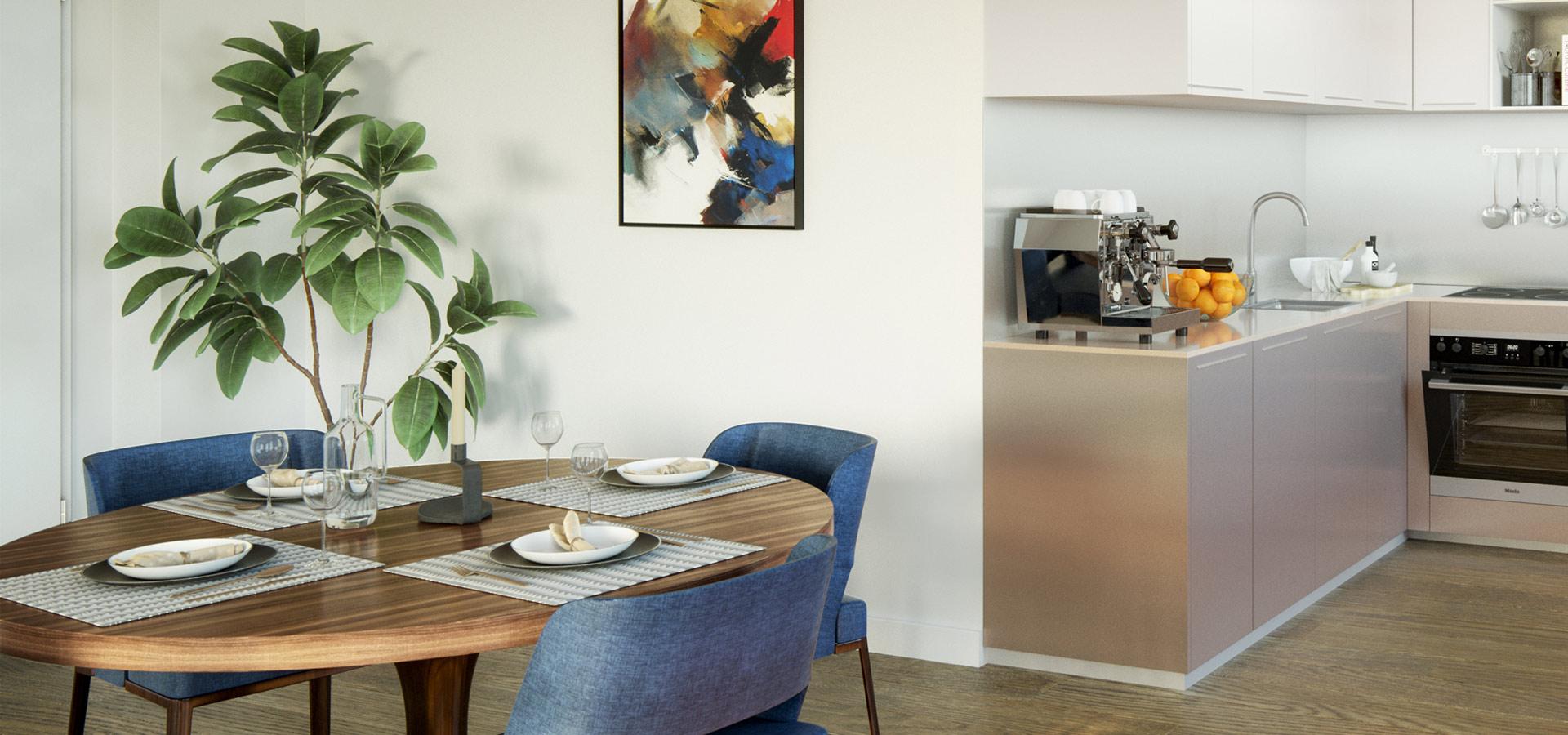 Inspirierend Tisch Esszimmer Sammlung Von Contentassets/6329b4fdaaa54b0bb500726b3b75174a/bonava-esszimmer -einrichten-runder-tisch.jpg
